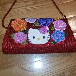 Hello kitty embellished Vintage/RARE eve. …